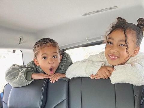 金·卡戴珊后继有人了:六岁的大女儿已经熟练使用社交媒体