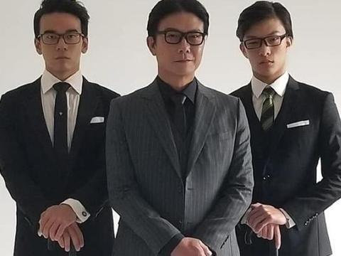 大儿子主演网络大电影,钱小豪客串 星二代始终不一样