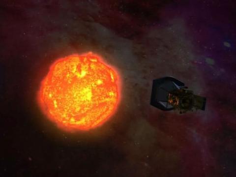 """美宇航局宣布:帕克号太阳探测器听到了太阳风的""""声音""""!"""