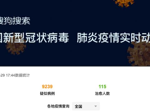 """协助疫情期间出行者自查,搜狗搜索上线最全""""患者同程查询""""功能"""