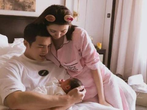 姜潮麦迪娜的基因太强大了,宝宝才几个月,五官正睫毛堪比洋娃娃