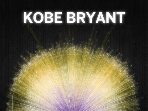 科比生涯最美进球图发布 13733记投篮像极宇宙中繁星点点璀璨夺目