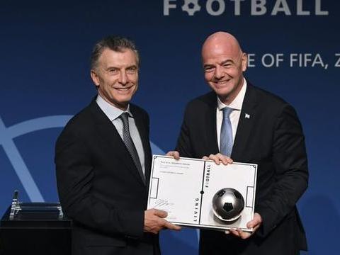 阿根廷足协声明:反对FIFA任命前阿根廷总统马克里