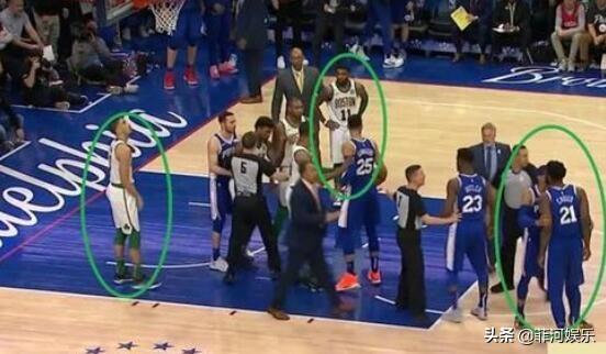 NBA第一中锋!大帝恩比德,斯玛特防不住他,直接推倒滑出5米远