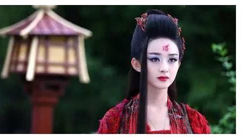 """原来杨幂才是""""花千骨""""的最佳人选?看到定妆照后,这才叫妖神下"""