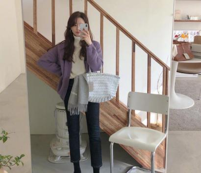 温暖又大气的韩系穿搭示范,轻轻松松彰显时尚气质!
