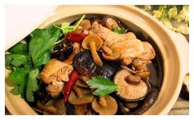 过年年夜---小鸡炖蘑菇,寓意大吉大利,做法大全简介。