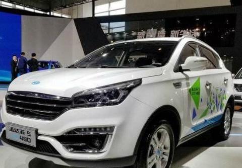 华泰圣达菲5新能源汽车外观内饰,华泰圣达菲5 XEV480汽车好不好