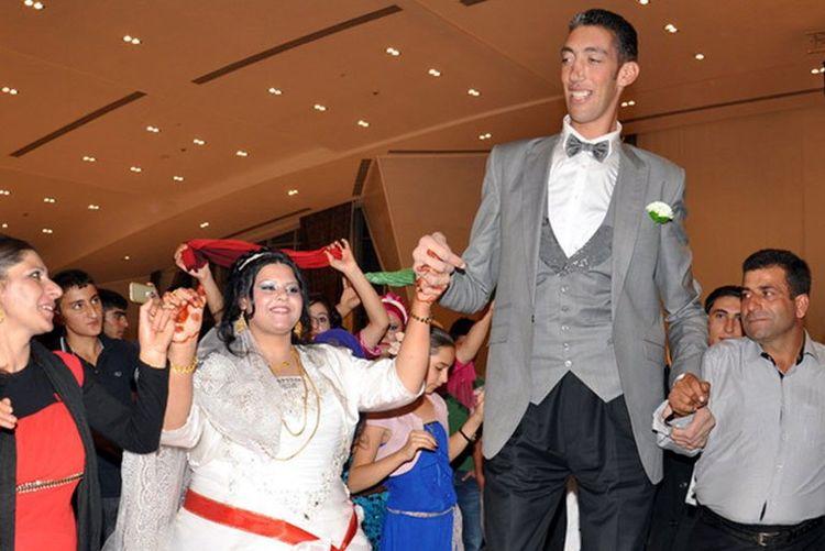 盘点世界上9对最奇特的夫妻,最后两人的身高加起来不足1.8米