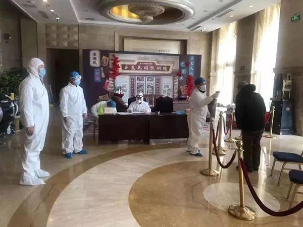 张玉平率领的6人执勤小组在玉丰大旅店执勤。
