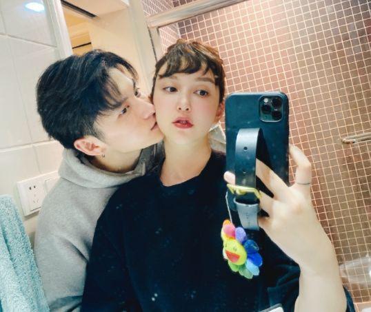 李雨桐错爱薛之谦后,公布自己90后演员男友 ,高磊鑫终于翻篇