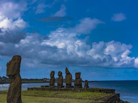 智力的复活节岛,祖先的石像留下来,探寻神秘的古老传说