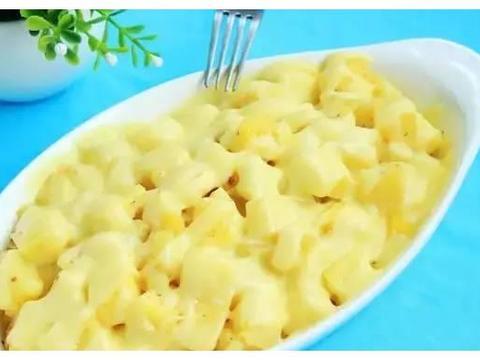 简单家常菜:焗菠萝土豆,麻酱凉拌面,四川麻婆豆腐,油泼金针菇
