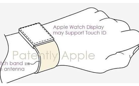 苹果新专利曝光 Apple Watch或支持Touch ID