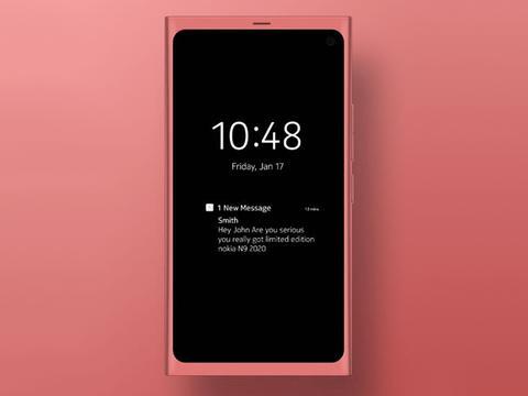 诺基亚N9 2020复刻版曝光 浓浓Lumia味经典再度回归