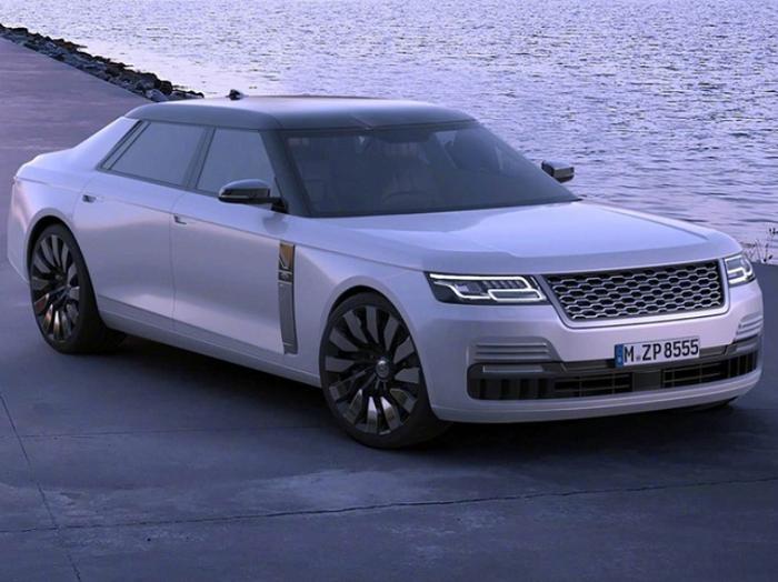三厢版轿车/外观大气 路虎首款全新轿车渲染图曝光