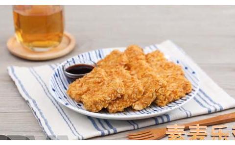 惊了,麦乐鸡出家,变成素麦乐鸡