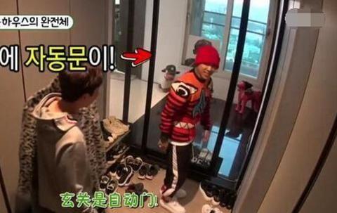 晒晒Dok2在韩国的家,连衣帽间都配备阳台