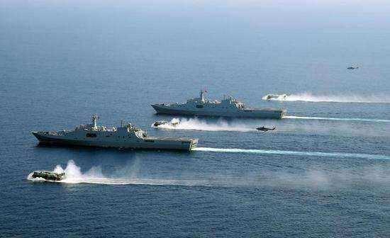 作战能力真的如此强悍吗?071型两栖船坞登陆舰竟已下水8艘
