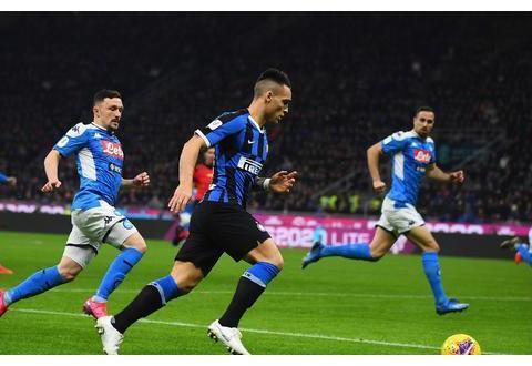 意大利杯-鲁伊斯世界波卢卡库哑火 国米0-1那不勒斯