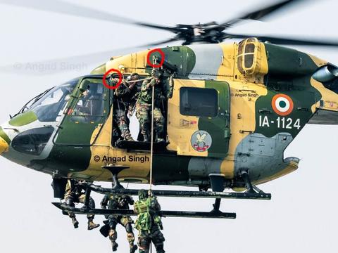 印度陆军北方司令,乘坐的老式直升机出现故障险些遇难