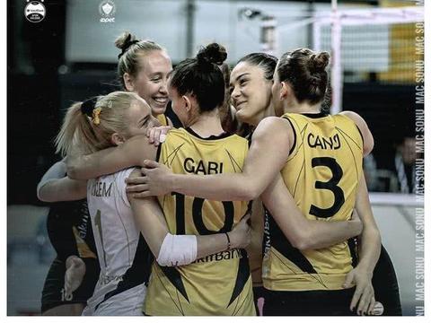 哈克领军 瓦基弗银行女排3:1战胜费内巴切 土耳其女排联赛