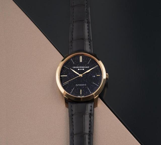 芝柏表1966 Orion腕表:面盘上不仅有新Logo,还有点点星空