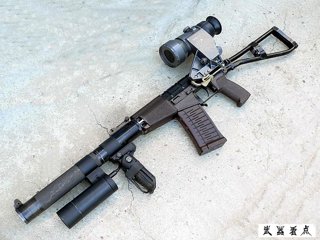 """军事丨俄""""巨浪""""微声步枪,特种部队装备40年了,还广泛采用"""