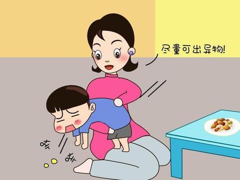 """宝宝吃东西噎住可能会致命!学会""""海姆立克急救法""""能救命!转发"""