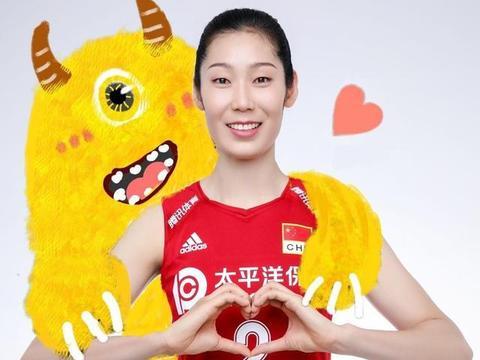 中国女排九大美女齐亮相!个个携带小怪兽,貌美如花,温柔可人