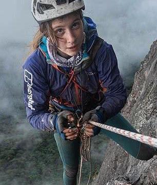21岁女生完成世界最难攀岩,成为首个征服圭亚那险峻岩壁的女性