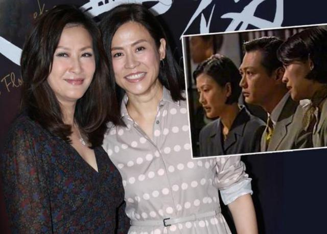 陈慧珊宣萱时隔22年再同框,一个容颜依旧,一个隐退变阔太