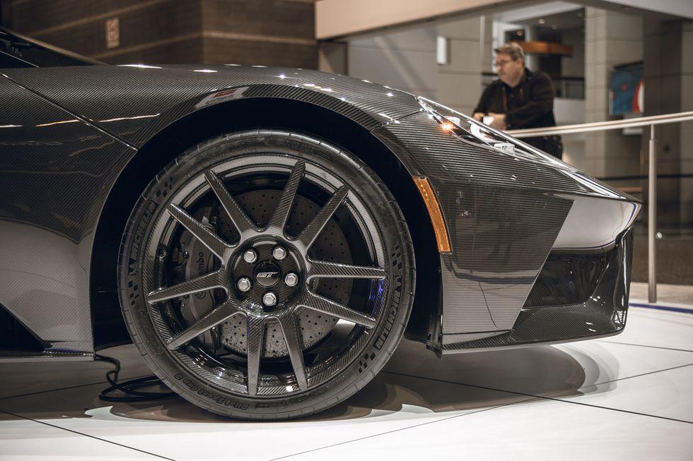 2020款福特GT,动力更强,外观也极具亮点