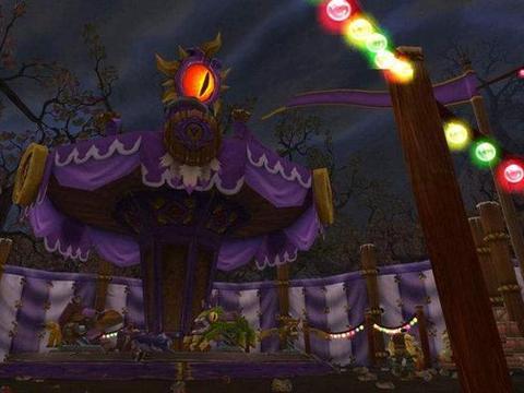 《魔兽世界》怀旧服:如何在暗月马戏团领BUFF?