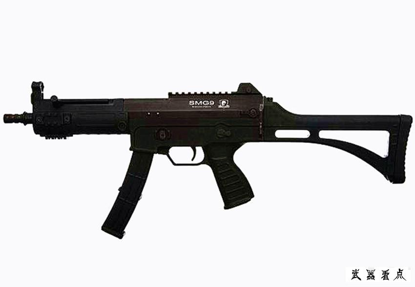 军事丨出口型SMG9微型冲锋枪,在欧洲市场收获连连好评