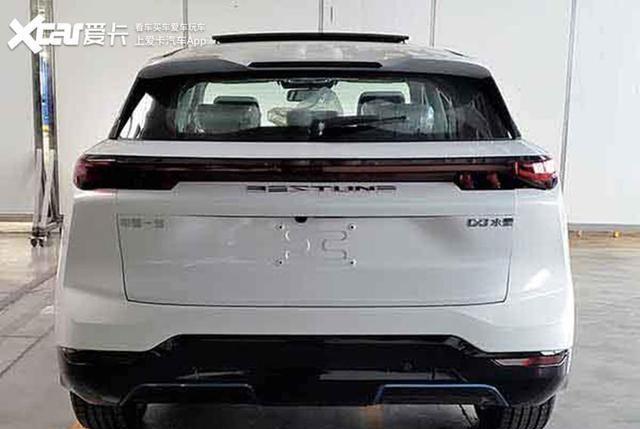 奔腾E01纯电动SUV申报图 综合续航450km