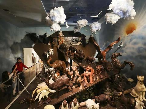 让游客垂涎三尺的博物馆,里面全是巧克力做的,连门票也可以吃!