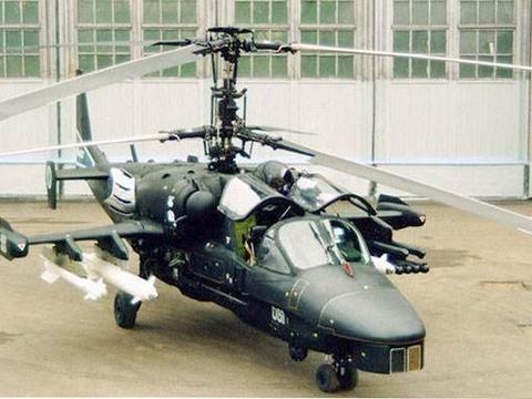卡-52武装直升机性能堪称卓越 俄军曾考虑让其上舰 如今无人问津