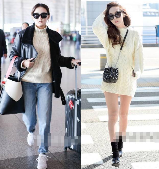冬天,女人毛衣别买太多,凑齐3个颜色就够了,显白时髦还很百搭