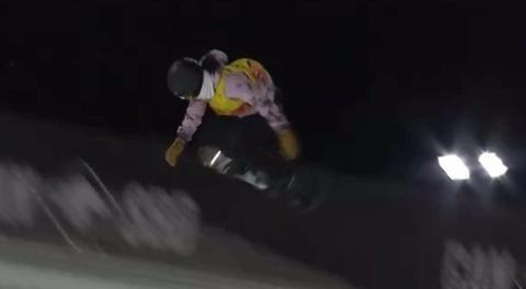 蔡雪桐单板滑雪U型池夺冠