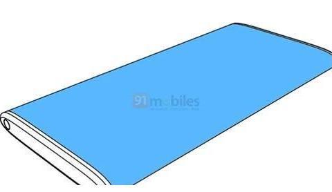 小米手机新专利曝光:超高曲面,屏占比超100%