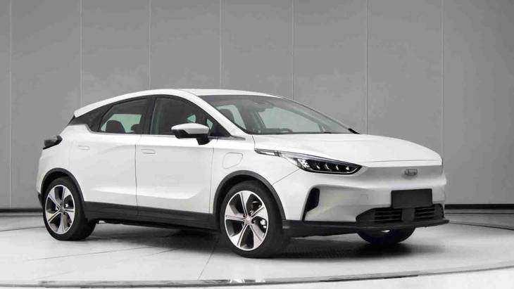 全球首款量产无人驾驶纯电SUV 几何GE13正式命名几何C