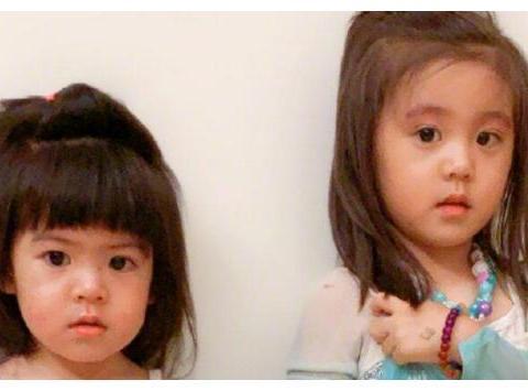 """有种""""遗传""""叫贾静雯小女儿,儿时像爸爸,近照和妈妈复制粘贴"""