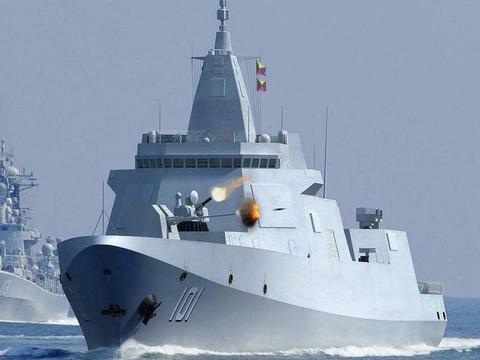 为什么说,055驱逐舰是下一个时代战舰的标杆?