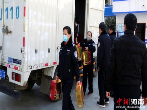 疫情无情 人间有爱——许昌市森林公安局收到爱心企业捐赠物资
