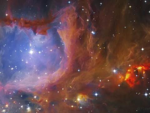 射电望远镜观测到,1000光年外的英仙座中,有74颗原恒星!