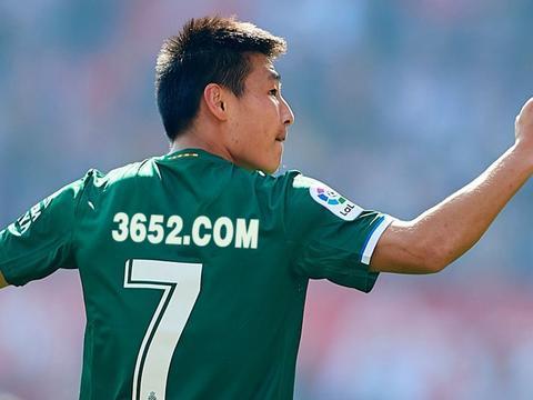 西甲联赛,武磊再度正选披甲,建功助西班牙人赛和塞维利亚