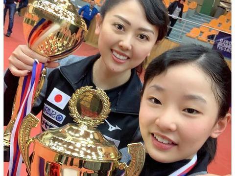 国乒大敌现身!张本智和亲妹1小时喜提双冠+22连胜,11岁击溃18岁