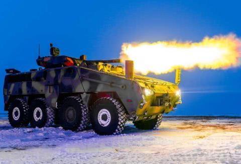 哈萨克斯坦2款新战车曝光,作战模块全部遥控化,大屏显示器好评