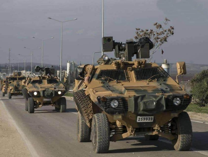 土耳其誓言将使用军事力量,将叙利亚军队赶出伊德利卜
